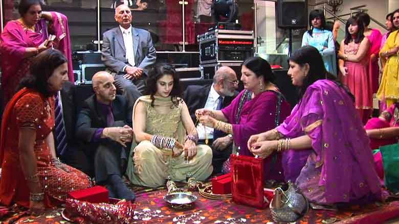 punjabi wedding chura images