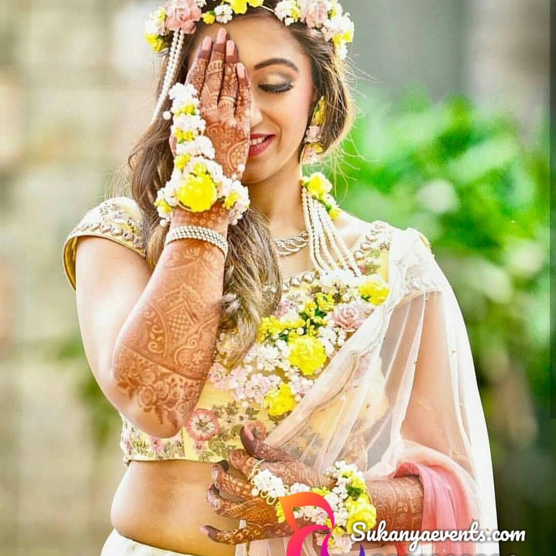 wedding flower jewellery