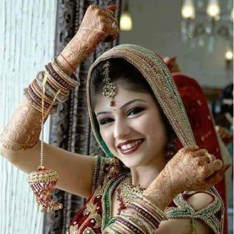 punjabi bridal chura with kalire