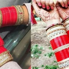 punjabi chora | punjabi bridal chura with kalire