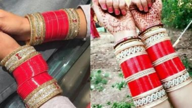 punjabi chora   punjabi bridal chura with kalire