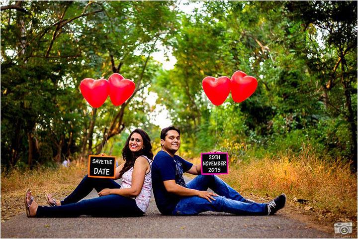 Pre Wedding Photoshoot Poses