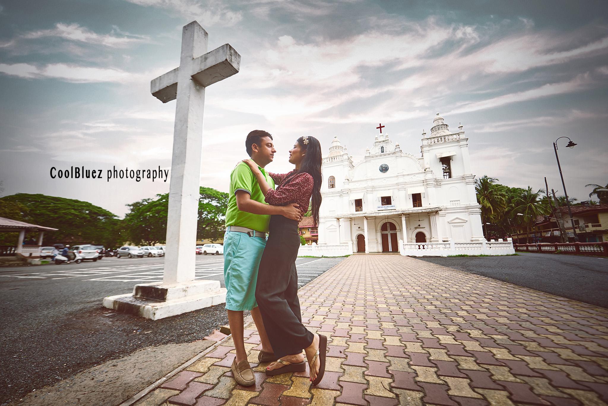 Pre Wedding Photoshoot location goa