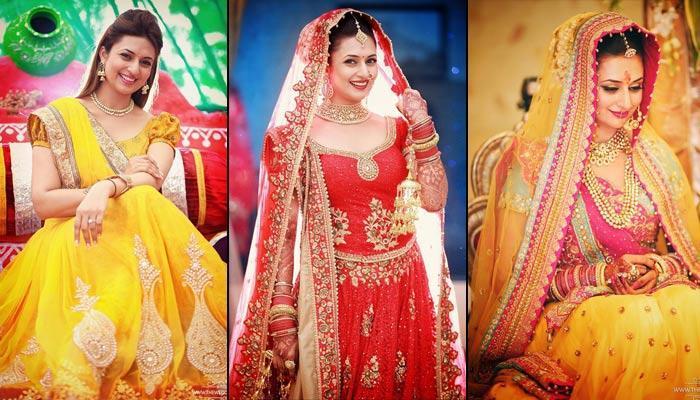 haldi ceremony dress for bride